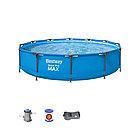 Каркасный бассейн BESTWAY Steel Pro MAX 56416  (366х76см, Винил, 6473 л., Стальной каркас)