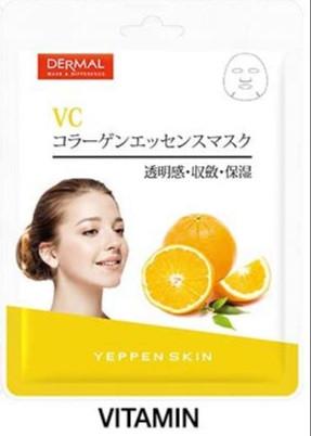 Yeppen Skin Vitamin Collagen Essence Mask Тканевая Маска на основе эссенции Витамина С