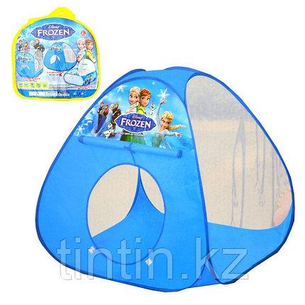 "Детская палатка домик ""Холодное Сердце"" 90х90х88см, фото 2"