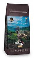 Сухой корм для собак всех пород Landor Adult Dog с ягненком и рисом