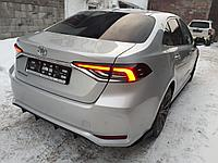 Диффузор на задний бампер Toyota Corolla 2018+, фото 1