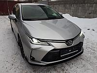 Сплиттер(губа) на Toyota Corolla 2018+, фото 1