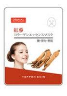 Yeppen Skin Red Ginseng Collagen Essence Mask Тканевая маска на основе эссенции красного Женьшеня