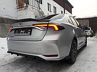 Спойлер(анти-крыло) на крышку багажника Toyota Corolla 2018+