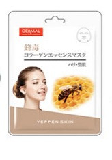 Yeppen Skin Bee Venom Collagen Essence Mask Тканевая Маска на основе эссенции Пчелиного яда