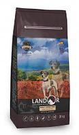 Сухой корм для собак всех пород Landor Adult Grain Free Lamb&Potato с ягненком и картофелем