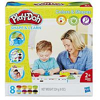 Пластилин Play-Doh Плей-До Цвета и формы Hasbro