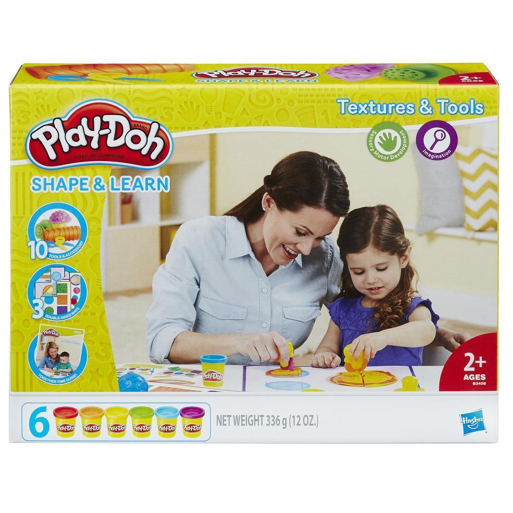 Пластилин Play-Doh Плей-До Текстуры и инструменты Hasbro - фото 1