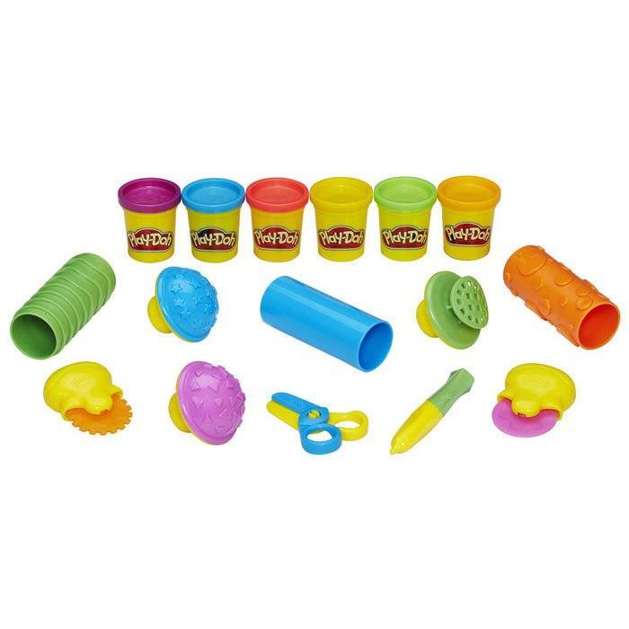 Пластилин Play-Doh Плей-До Текстуры и инструменты Hasbro - фото 2