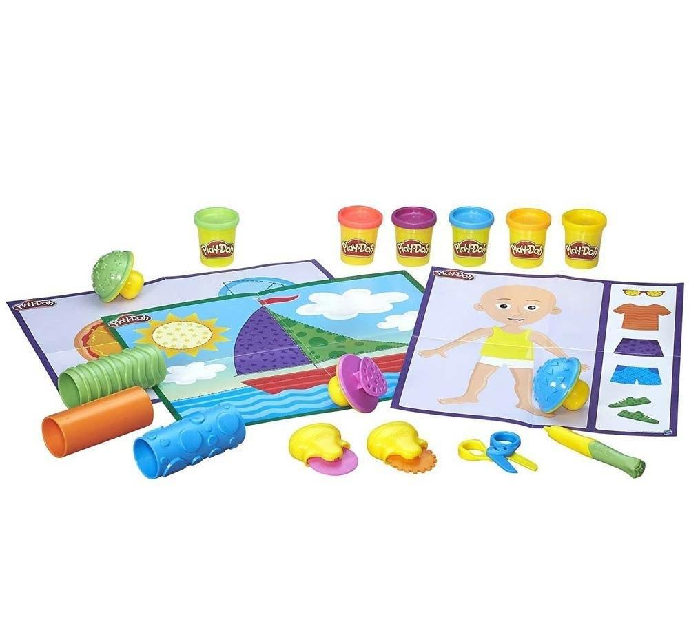 Пластилин Play-Doh Плей-До Текстуры и инструменты Hasbro - фото 3