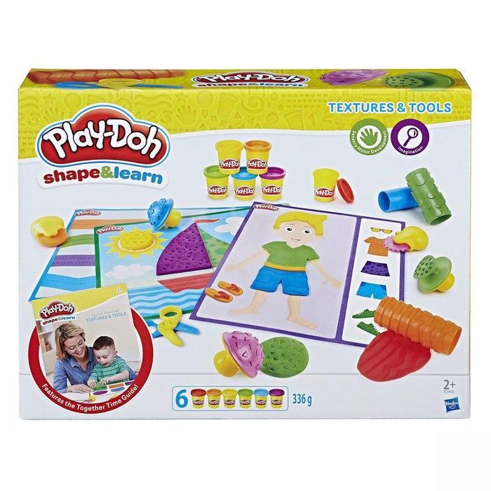 Пластилин Play-Doh Плей-До Текстуры и инструменты Hasbro - фото 5