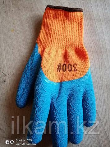 Перчатки 300# синие, фото 2