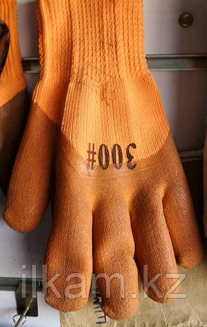 Перчатки 300# с коричневой обливкой, фото 2