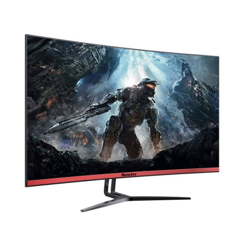 """Монитор ЖК 31.5"""" Huntkey X3271CK <2560*1440, 8ms, DVI+HDMI+DP, Тип панели: VA, 718*506*233mm, Black>"""