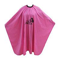 Пеньюар для парикмахера WB-01 розовый AISULU №50928(2)