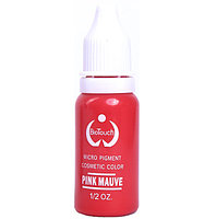 Пигмент для перманентного макияжа Biotouch 1/2 oz (Pink Mauve) Kитай №15103