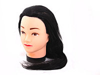 Болванка учебная для парикмахера ТМ-002 исскуст. волосы 60 см (черный) №67667(2)