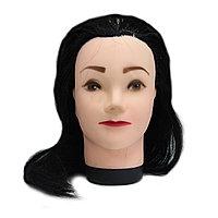 Болванка учебная для парикмахера ТМ-016 искус. волосы 45 см (черный) №88082(2)