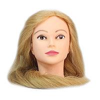 Болванка учебная для парикмахера ТМ-013 50% натур. волосы 80 см (светло-русый) №88167(2)
