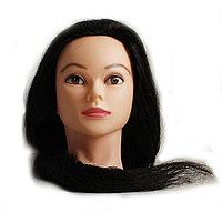 Болванка учебная для парикмахера ТМ-011 50% натур. волосы 80 см (не крашенный) №88174(2)