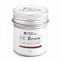 Хна для бровей CC Brow коричневый 5 г в баночке №59023