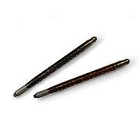 Ручка-манипула для микроблейдинга и ручного татуажа двухстор., металл (горошек, орнамент) №72197(2)