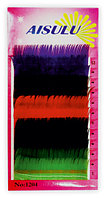 Ресницы цветные декоративные, 8 мм на планшетке толщина 0,15 мм A-484 №1670