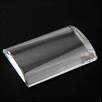 Подставка для клея ресниц A-802 овальная (стеклянная) №73279(2)