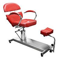 FM-615 Кресло педикюрное с откидной спинкой (красное, дождик)