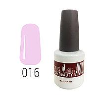 Гель-лак для ногтей №016 14 мл AISULU №6918(2)