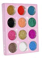 Бульонки для ногтей цветные №63287