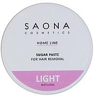 Паста SAONA для шугаринга LIGHT NATURAL 300 г №04224
