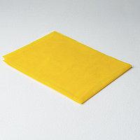 Простыня одноразовая Спандбонд 30 г/кв.м (200 х 140 см) желтый Чистовье (10 шт.) №1336