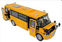 Автобус металлический SCHOOL BUS со звуком и светом