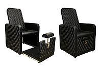 AS-0888 Кресло педикюрное без ванночки (черное)