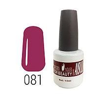 Гель-лак для ногтей №081 14 мл AISULU №8288(2)