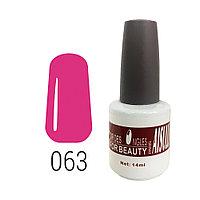 Гель-лак для ногтей №063 14 мл AISULU №8387(2)