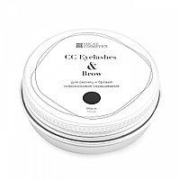 Хна для окрашивания ресниц и бровей CC Brow черная в банке 10 г №59306
