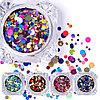 Камуфубики для дизайна ногтей (разноцветные) №68954