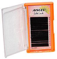 Ресницы №1603 один/шелковые, C/0,20 мм/10 мм (в 16 рядов) AISULU Silk Lash №54414(2)