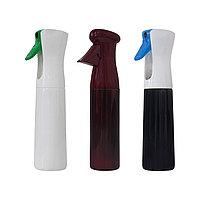 Распылитель для воды полуавтомат сред пластиковый 300 мл (в ассорт.) №100654(2)