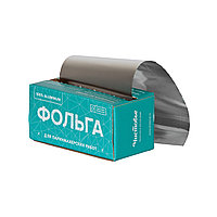 Фольга 18 мкр 12 см х 100 м серебро в коробке Чистовье №04726