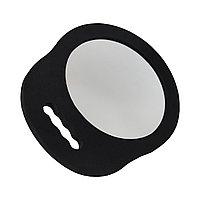 Зеркало для клиентов №987 круглое, с одной ручкой, небьющееся №5579
