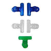 Зажим-прищепка для формирования (фиксации) арки искусственного ногтя (5 шт.) №97114(2)