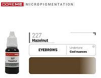 Пигмент для перманентного макияжа DOREME №227 Hazelnut 15 мл №75945
