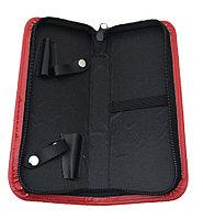 Футляр для 2х ножниц и расчесок №166 (в ассорт.) AISULU №71411(2)
