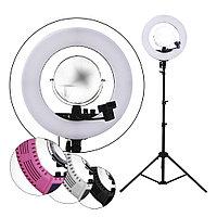 LED Лампа для визажиста кольцевая CM1708 Ø46, напольная (в ассорт.) №88310(2)