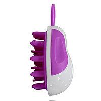 Щётка для массажа головы и распределения шампуня #10, овальная №84077(2)