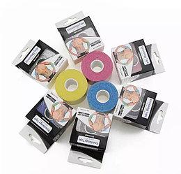 Кинезио тейп (эластичный пластырь) Kinesio Tape 5м- 5см -желтый