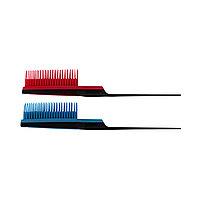 Расчёска-щетка для подъема корней волос #9965 гелевый (5 ряда) №99446(2)